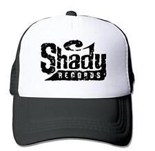 fed721c8483 Eminem Slim Shady Fitted Hats Vintage Snapbacks Red Black