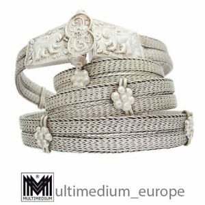 Antiker alter Silber Gürtel Schließe Indien belt buckle silver 🌺🌺🌺🌺🌺
