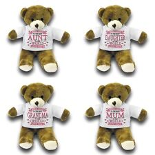 """With Love To The Best Relative In The World Cute Gift 7"""" Teddy Bear Variation"""
