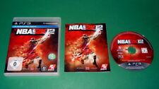 NBA 2K12 mit Anleitung und OVP fuer Playstation 3 PS3