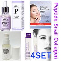Snail Niacinamide Peptide Face Serum Cream Collagen Eye Mask Matrixyl Argireline