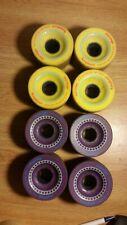 Longboard Lot Of 2 Sets Of Wheels Orangatang Moronga (83A & 86A)