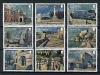 Gibraltar 2017 MNH Military Heritage War Memorials 9v Set Architecture Stamps