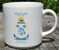 Walter E Foran Armory Dedication Advertising Coffee Cup Mug Flemington NJ