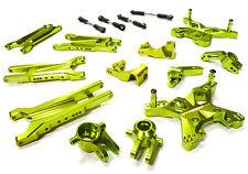 Integy C26396GREEN Aluminum Suspension Kit Traxxas Slash 4X4