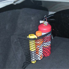40*25cm Car Rear Trunk Back Seat Elastic String Net Mesh Storage Pocket Cage LJ