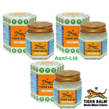3 x  Tiger Balm White Original For Body and Muscular pain,Joint Aches-21ml-18g