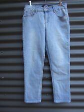 Cherokee Women's Blue Jeans Cotton Poly Spandex Size 10 Measured Waist 29