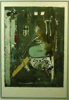 """Hans Falk """"Penthouse Edition 182"""" 146/350 Lithografie mit Collage"""