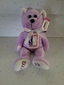 American Cancer Society-RELAY FOR LIFE-Beanie Bear-New with Tag