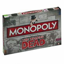 The walking dead monopoly board game survival instinct new sealed