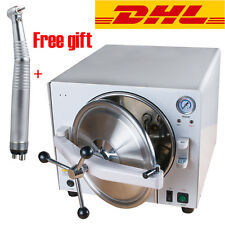 18L Medical Autoclave Steam Sterilizer Dental Lab Sterilizers Equipment & Gift
