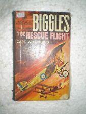 BIGGLES THE RESCUE FLIGHT RARE BOOK 1939