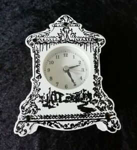 Border Fine Arts Enesco Carriage Clock Contemporary French Style Metal Ornate