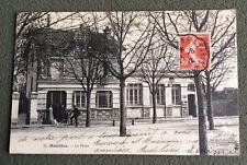 CPA. HOUILLES. 78 - La Poste. 1912. Facteur.