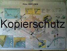 SCHAUTAFEL/LEHRTAFEL NVA JAMZ-238W MOTOR  DER MT-LB,TRAKTOR K700,KEIN BMP1,TATRA