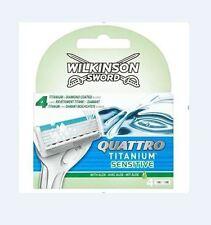 Wilkinson Quattro Titanium Sensitive Ersatzklingen 4er 70050980