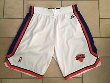 New York Knicks Nba Authentic's Adidas Pantaloncino Basket Swingman Uomo Tg. XL