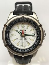 Watch Bulova Oceantimer SwissMade Automatic Compass 1 1/2in Discounted New