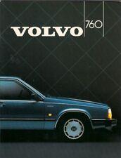 Volvo 760 1984-85 UK Market Sales Brochure GLE Turbo & TD Saloon 700-Series