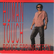 """BRUCE SPRINGSTEEN  Human Touch PICTURE SLEEVE 7"""" 45 rpm vinyl record NEW RARE"""