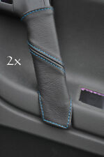 FITS VW POLO MK5 6N2 98-2001 2X DOOR HANDLE COVERS blue