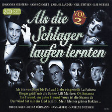 VARIOUS ARTISTS - ALS DIE SCHLAGER LAUFEN LERNTEN, VOL. 2 NEW CD