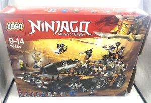 Lego Ninjago 70654 Dieselnaut Set Box Manual Minifigs Complete Mainly Sealed