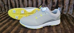 NEW Skechers Go Golf Torque Twist Golf Shoes  Grey/Lime  Men's Size 8.5 🔥🔥