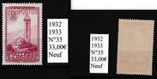 1 timbre d'ANDORRE FR Neuf de 1932-33 trèsbon état identique au scan