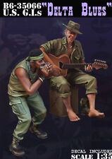 Bravo6 1:35 US US G.I Delta Blues Vietnam War - 2 Resin Figures #B6-35066