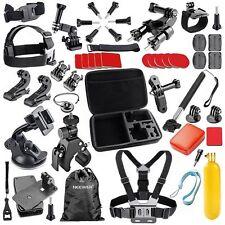 44 in 1 Kit Accessori GoPro Hero 4/3 3/2 Bicicletta Corre, Sci Remo Surf