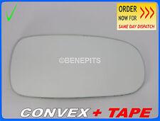 Wing Mirror CAR Glass Saab 93 2003-2013 CONVEX + TAPE Right Side /SA001 153
