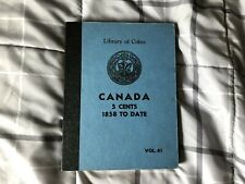 Canada 5 Cents Collection- 53 Coins Included in Library Of Coins Album Vol61