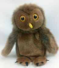 """The Puppet Company 9"""" Brown Barn Owl Hand Glove Puppet Soft Plush Toy"""
