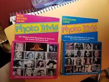 Photo Trivia Potpourri & MGM Movies Edition Card Games