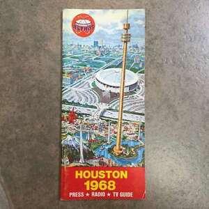 HOUSTON ASTROS MLB BASEBALL MEDIA GUIDE 1968 EX