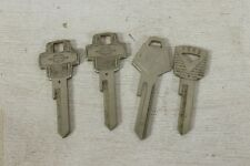 Lot 4 Uncut Keys Vintage 1960's Ford Lincoln Chrysler Mustang Thunderbird