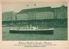 Fahrbares Modell Dampfer Hamburg AK Hamburg-Amerika-Linie Schiffe HAPAG 1701392