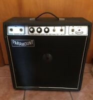 Vintage PARAMOUNT AMP Guitar Amplifier PA-100 USA Tested Works EXTREMELY RARE!