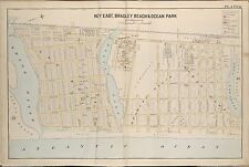 1889 KEY EAST, BRADLEY BEACH OCEAN PARK MONMOUTH, NEW JERSEY COPY PLAT ATLAS MAP
