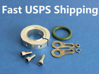 """Aluminum Exhaust Pipe Saver for 7/8"""" / 22mm Exhaust Header for RC Boat 509T55"""