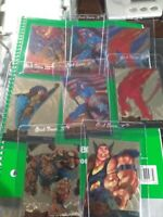 1995 FLEER MARVEL METAL GOLD AND RED BLASTER  LOT OF 8 All DIFFRENT CARDS