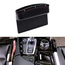 1x Accessories Car Leather Box Caddy Seat Gap Slit Pocket Bag Storage Organizer