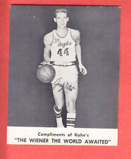 1961  KAHN'S  JERRY WEST  LAKERS  2nd YEAR