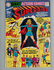 Action Comics 373  Giant Supergirl Special Issue!  Fine 1969 DC Comic!