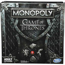 NEW! Monopoly Game Of Thrones Edition Board Game by Hasbro Age 18+
