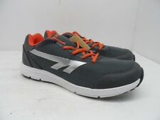 HI-Tec Men's Pajo M Athletic Walking Shoes Gray/Orange/White Size 8M