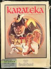 Karateka - Broderbund - Atari 400/800 - Complete in Box