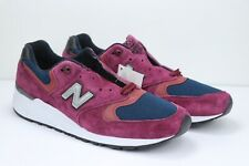 New Balance M999JTA Burgundy Navy Maroon Made in USA Running Shoes Men Size 11.5